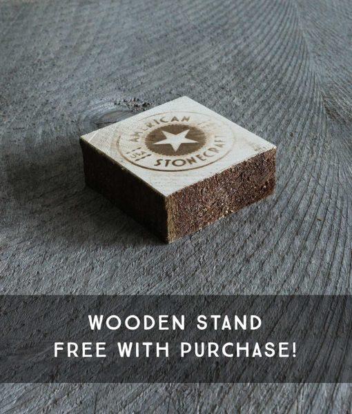 american-stonecraft-handmade-fieldstone-cook-slab-wooden-block-stand