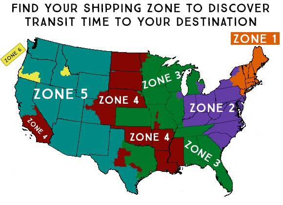ups time zone map images